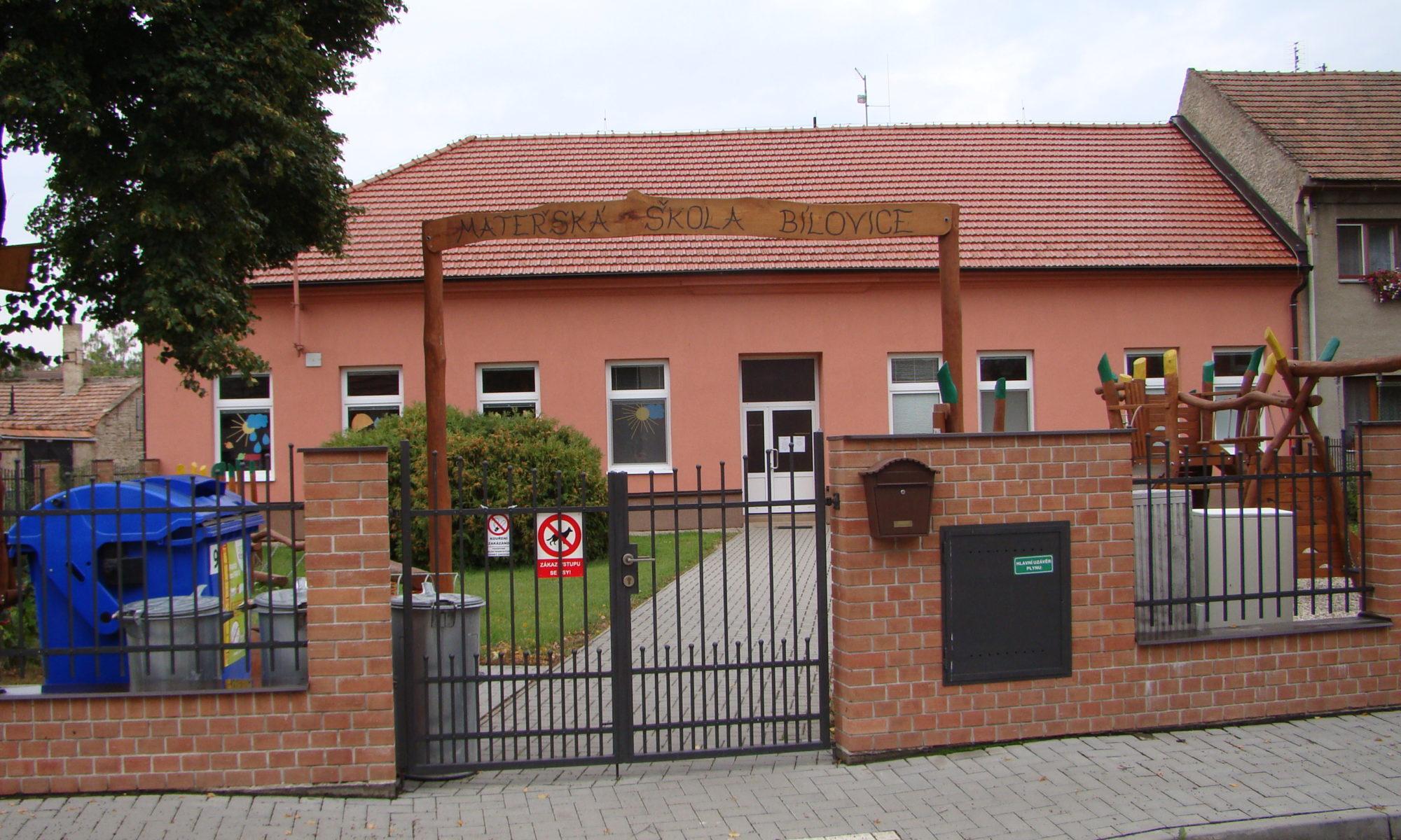 Mateřská škola Bílovice - Lutotín